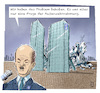 Cartoon: Deutsche Bank (small) by Jan Rieckhoff tagged deutsche,bank,geldinstitut,geld,finanzen,betrug,verbergen,täuschen,management,banker,broker,aktien,krise,cartoon,karikatur,jan,rieckhoff