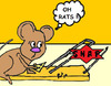 Cartoon: Mouse  in The House (small) by Mewanta tagged mouse