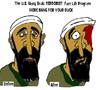 Cartoon: Navy Seals (small) by Mewanta tagged osama,usama,usa,navy,seals