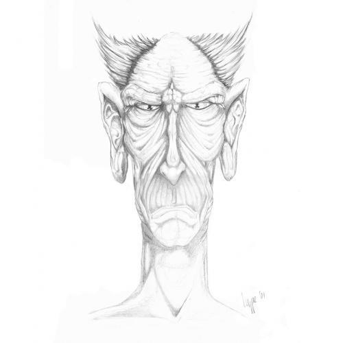 Cartoon  old man  medium  by hype tagged character old man bleistift    Old Black Man Cartoon Characters