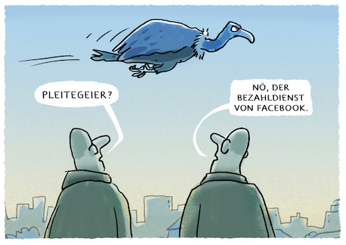 Cartoon: ...datenzuckerbergpaycoins... (medium) by markus-grolik tagged facebook,zuckerbeg,geld,währung,daten,big,data,bitcoins,krypto,whatsapp,instagram,social,media,datenmissbrauch,pleitegeier,finanzen,facebook,zuckerbeg,geld,währung,daten,big,data,bitcoins,krypto,whatsapp,instagram,social,media,datenmissbrauch,pleitegeier,finanzen