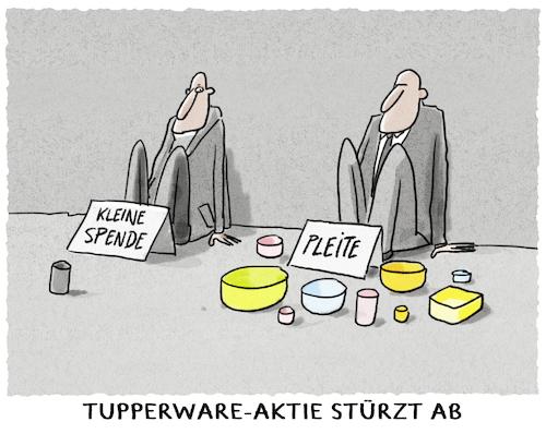 Tupperware Pleite