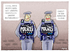 Cartoon: Dein Freund und Helfer... (small) by markus-grolik tagged bundespolizei,amazon,body,cam,bodycam,bodycams,koerperkamera,datenschutz,polizei,server,cloud,demokratie,sicherheit