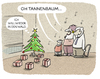 Cartoon: ...die Tradition (small) by markus-grolik tagged weihnachten,weihnachstbaum,familie,frohes,fest,weihnachtsgeschenke,24,dezember,weihnachtszeit