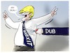 Cartoon: ...Fortsetzung folgt... (small) by markus-grolik tagged dub,parlament,backstop,boris,johnson,london,europa,brexit,eu,brüssel