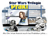 Cartoon: Unknown bonus material (small) by markus-grolik tagged krieg,der,sterne,star,wars,fan,fans,jedi,ritter,darth,vader,baumarkt,kasse,vergangenheit,grolik,cartoon,science,fiction,kino,universum,episoden,dvd