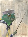 Cartoon: Frogman (small) by greg hergert tagged frogman,frogs,experts