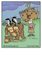 Cartoon: Cheaters (small) by Juan Carlos Partidas tagged ark noah animal zebra gorilla flood bible old testament genesis