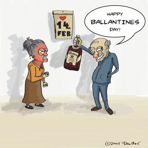 humor Imágenes San Valentin Día de los Enamorados 14 de febrero