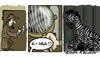 Cartoon: Sherlock (small) by Mandor tagged sherlock,prison,zebra,fingerprint