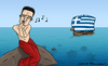 Cartoon: Syriza siren (small) by Mandor tagged tsipras,syriza,elections,greece