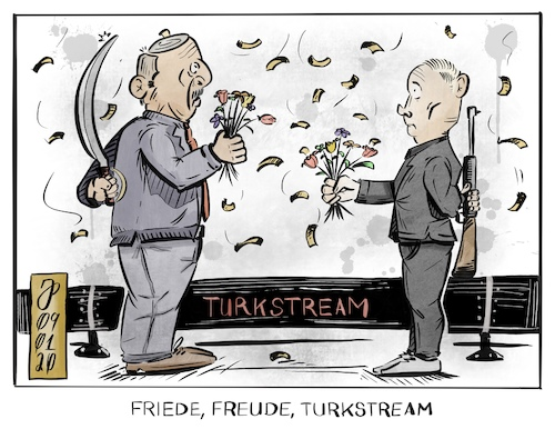 Friede Freude TurkStream