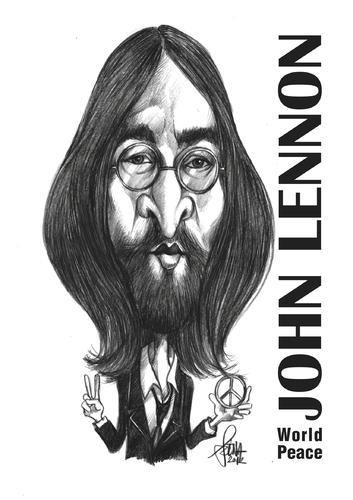 John Lennon By Szena Media Culture Cartoon Toonpool