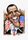 Cartoon: Barack Obama (small) by Szena tagged politics,obama,usa,president