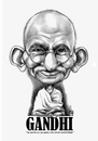 Cartoon: Mahatma Gandhi (small) by Szena tagged mahatma gandhi bapu indian