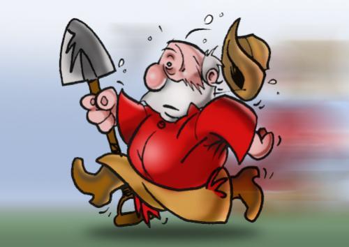goldrush by lemmy danger sports cartoon toonpool