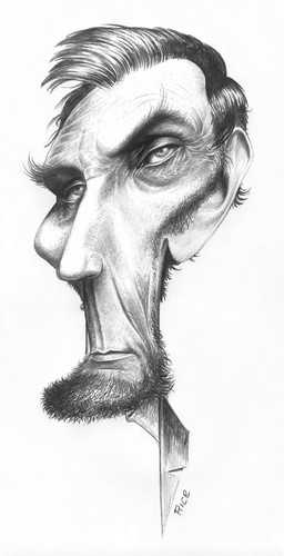 Abe Lincoln By Ricearaujo Politics Cartoon Toonpool