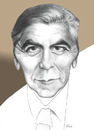 Cartoon: George Clooney (small) by ricearaujo tagged george,clooney,hollywood,artist,actor