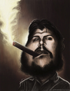 Cartoon: El Che Ernesto Guevara (small) by jaime ortega tagged el,che,ernesto,guevara