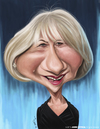 Cartoon: Helen Mirren (small) by jaime ortega tagged helen,mirren