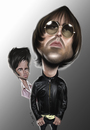 Cartoon: Oasis (small) by jaime ortega tagged oasis