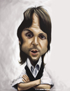 Cartoon: Paul Mccartney (small) by jaime ortega tagged paul,mccartney