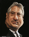 Cartoon: Robert De Niro (small) by jaime ortega tagged robert,de,niro