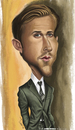 Cartoon: Ryan Gosling (small) by jaime ortega tagged ryan,gosling