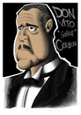 Cartoon: Don Vito Corleone ??? 001 (small) by BDTXIII tagged godfather