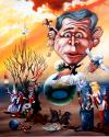 Cartoon: Bush (small) by petwall tagged bush
