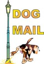 Cartoon: Dog Mail (small) by petwall tagged hund,dog,mail,post,gassi