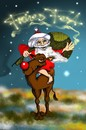 Cartoon: Frohes Fest (small) by petwall tagged weihnachten,weihnachtsmann