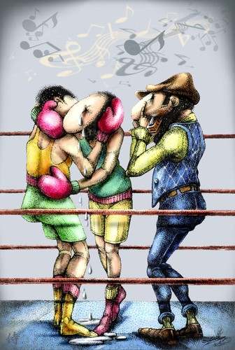 Cartoon: The BoxingBlues... (medium) by LuciD tagged lucido5,surrelism,times,art,nature,creation,god,zodiac,love,peace,humor,world,fasion,sport,music,real,animals,happy,holy,drawings,cartoon,pictures,photo,cool,mony,football,life,live,sky,flower,light,water,high,tags,lol,friend,children,xxx