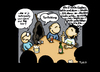 Cartoon: Fortbildung (small) by Marcus Trepesch tagged death,learning,advanced,training,trainee,pub,funnies,cartoon,drinks