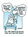 Cartoon: Hackepeter... (small) by Marcus Trepesch tagged doctors,physcian,cartoon,comic
