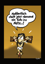 Cartoon: Nude Leak (small) by Marcus Trepesch tagged jesus,golgotha,cross,crucifixion,selfies,nude,internet,scandal,celebrities