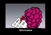 Cartoon: Stimmbeere (small) by Marcus Trepesch tagged berries,life,funnies,fun,raspberry,sex