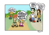 Cartoon: Unsere Kinder. (small) by Marcus Trepesch tagged cartoon,funnies,life,children