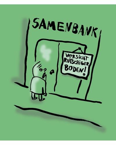 Rutschiger boden by ludwig business cartoon toonpool for Boden cartoon