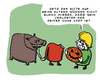 Cartoon: Halloween (small) by Ludwig tagged halloween kürbis pumpkin kopflos gespenster