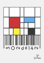 Cartoon: MONDRIAN (small) by Tonho tagged mondrian,barcode,art