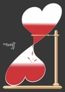 Cartoon: Time to love (small) by Tonho tagged time,hourglass