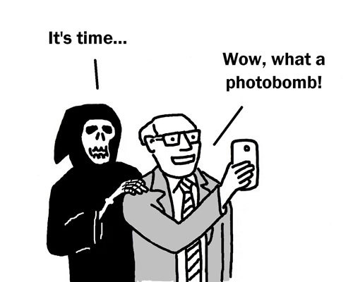 No Photobomb ! Image Courtesy: toonpool.com