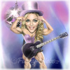 Cartoon: Madonna (small) by funny-celebs tagged madonna,music,singer,actress,queen,of,pop,like,virgin,prayer,guy,ritchie,sean,penn,fitness,bodybuilding