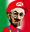 Cartoon: SuperMario Monti (small) by dabobabo tagged mario,monti,italy,italian,premier,caricature,funny,economy,europe,european,government,politic,crisis,default,debit