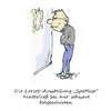 Cartoon: Loriotausstellung (small) by Simpleton tagged loriot
