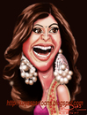 Cartoon: shilpa shetty (small) by koyaskodinhi tagged actress