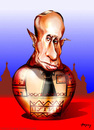 Cartoon: Vladimir Putin (small) by hopsy tagged vladimir,putin