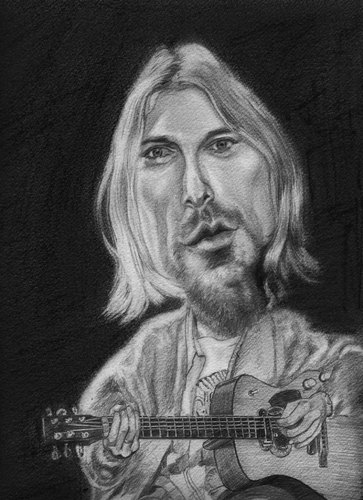 Pictures cartoon kurt cobain medium by k e m o tagged kurt cobain ...