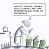 Cartoon: Mülltrennung (small) by Anjo tagged mülltrennung,olympia,goldmedallie